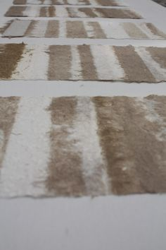 ritmi Fez, Marocco - 2013 carta in juta e cotone tintura a freddo hennè