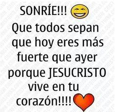 Porque JESUS VIVE EN MI !!