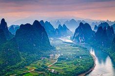 15 dos Mais Belos Rios do Mundo  Li - Guangxi, China