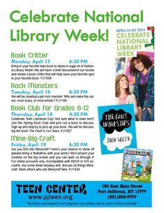 Port Jefferson Teens celebrate National Library Week
