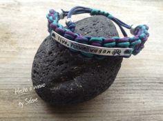 Pulsera YAX Trenzada Tricolor, Bisutería, Pulseras, vegan bracelet
