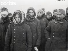German Soldiers Captured by Soviet Red Army - BE064675 - Rights Managed - Stock Photo - Corbis
