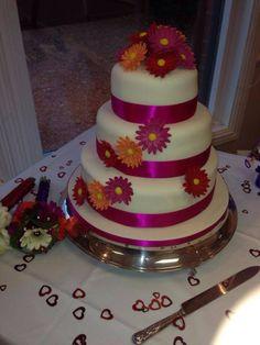 Sarah and Gary's Wedding Cake
