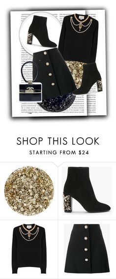 """Untitled #468"" by ancamarina ❤ liked on Polyvore featuring Smith & Cult, Gucci, Miu Miu and Chanel"