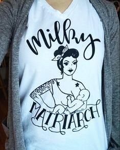 Milky Matriarch Rosie Tattooed Mom Trendy Mama Tee