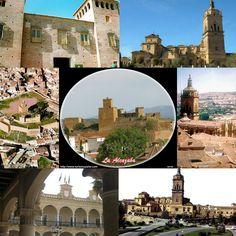 La catedral, la Alcazaba y la Plaza de las Palomas., de Guadix Enamora.