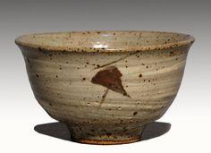 Tatsuzo Shimaoka: Ceramic Jomon Inlaid Chawan teabowl