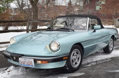 Bid for the chance to own a 1984 Alfa Romeo Spider Veloce at auction with Bring a Trailer, the home of the best vintage and classic cars online. Convertible, Classic Car Magazine, Triumph Spitfire, Alfa Romeo Spider, Alfa Romeo Cars, Cabriolet, Sport Cars, Vintage Cars, Cool Cars