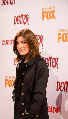 Jennifer Carpenter en la presentación de la tercera temporada de Dexter en Madrid     #Jennifer #Carpenter gorgeous #celebrity that has earned our respect. Love:   http://LikePlusFollow.Me