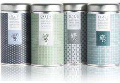 Rare Tea packaging design - Studio h