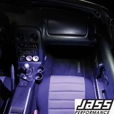 2017-2018 Mazda 3 Interior LED Door Lighting Footwell Kit OEM BABF-V7-050