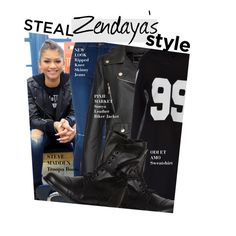 """Steal Zendaya's Style"" by honii ❤ liked on Polyvore featuring Odi et Amo, dELiA*s, zendaya and celebstyle"
