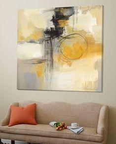 Solar Path II Loft Art by Silvia Vassileva Abstract Canvas, Oil Painting On Canvas, Canvas Art, Abstract Art Paintings, Oil Paintings, Indian Paintings, Framed Canvas, Painting Art, Watercolor Painting