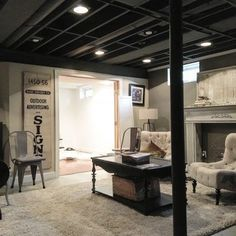 17+ Amazing Unfinished Basement Ideas You Should Try