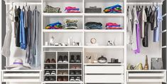 9 Best Closet Systems - Best Places to Buy Closet Kits 2020 Modular Closet Systems, Best Closet Systems, Modular Closets, Ikea Algot, Ikea Pax, Utensil Drawer Organization, Closet Organization, Diy Organisation, Shop Storage