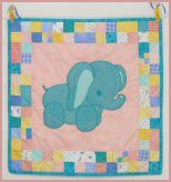 Stuffies Ellie the Elephant Baby Quilt Pattern