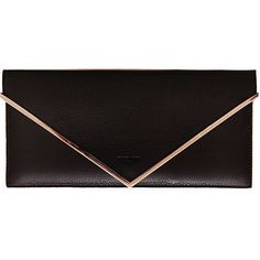 Givenchy Flap leather wallet (778,625 KRW) ❤ liked on Polyvore featuring bags, wallets, black, leather flap wallet, flap wallet, real leather wallet, genuine leather bag and flap bag