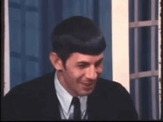Subtext is Queer Realm Star Wars, Leonard Nimoy, Being Good, Spock, Attractive People, Good People, Stars, Cute, Gifs