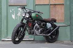 Custom Honda CX500 Street Scrambler by Pacific Motorcycle
