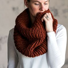 Simplicity Cowl Knitting Pattern