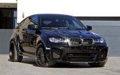 BMW X6 M, G-Power, E71, tuning X6, black BMW, black wheels, BMW