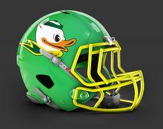 University of Oregon Ducks Alternate Nike Uniform Concept by Bryan Longoria
