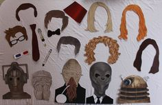 DIY 20 piece Dr. Who inspired Photo Booth by DesignKidsHabitat, $28.00