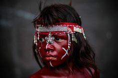 Nicaragua se embadurna de aceite y se viste de indígena en honor a Minguito