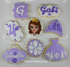 Sofia The First Cookie Party Favors