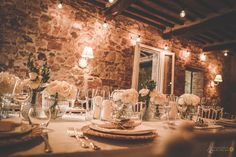 Lights for a B plan in Tuscany, Tuscan wedding