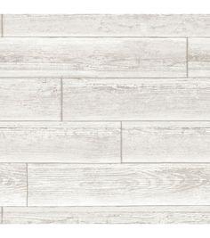 WallPops® NuWallpaper™ Cream Serene Paneling Peel & Stick Wallpaper | Online Only Product