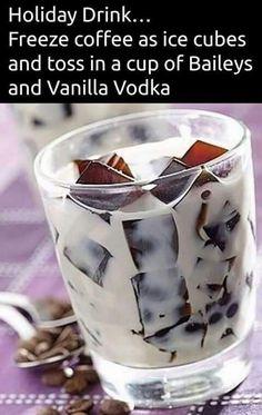 Coffee icecubes
