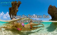 Loving the freedom that summer brings. just girly things