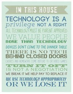 Taking Control of Technology Before Technology Takes Over Your Family by Sunshine and Hurricanes