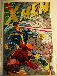Fantastic Near Perfect Copy of X-Men # 1 Series 2, October 1992 Variant Cover…