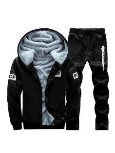 2pcs Men Tracksuit V Neck T Shirt Suit Men Stand Neck Shirt Summer Sports Su HIT