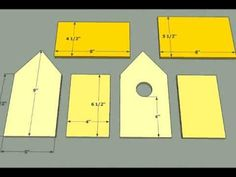 Free Birdhouse Plans for Cardinals Lovely Bird House Building Plans Wooden Bird House Plans Free Bird House Plans Free, Bird House Kits, Wooden Bird Houses, Bird Houses Diy, Bird Houses Painted, Home Building Tips, Building Plans, Building Bird Houses, Building A House