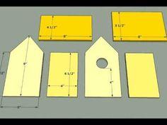 15 Bird House Plans - Simple DIY Bird House Plans - YouTube