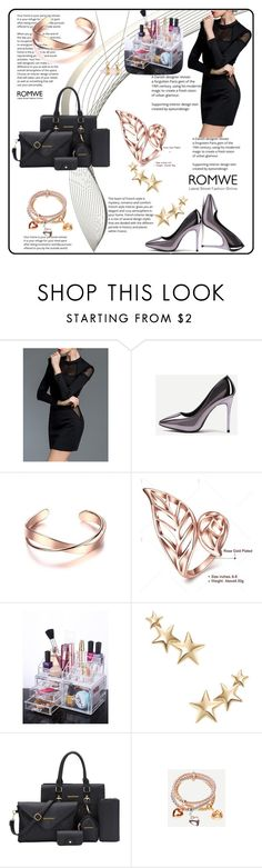 """""""Romwe 6/10"""" by amrafashion ❤ liked on Polyvore featuring Kenneth Jay Lane and Dee Berkley"""