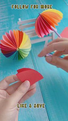 Easy Arts And Crafts, Paper Crafts Origami, Diy Crafts For Gifts, Paper Crafts For Kids, Easy Crafts For Kids, Craft Stick Crafts, Preschool Crafts, Fun Crafts, Kids Diy