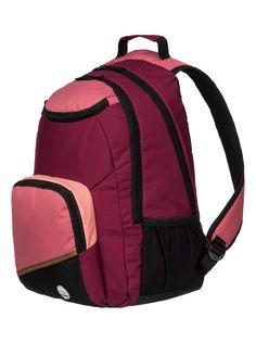roxy, , Red Plum - Solid (rrc0) Roxy Backpacks, Red Plum, Gym Bag, Bags, Handbags, Duffle Bags, Dime Bags, Totes, Purses