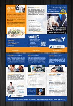 Software Company needs awesome brochure! by d design