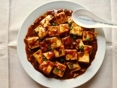 Culinary Adventures and More : Anime Food Re-creation: Angel Beats! Super Spicy Mapo Tofu