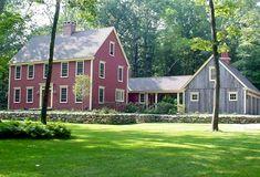Colonial - I like the semi-detached garage/barn-like structure