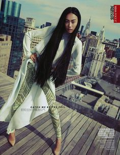 Asian Models: EDITORIAL: Shu Pei in Vogue China, June 2012