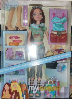 My Scene Shopping Spree Chelsea Barbie Disney Barbie Dolls, Barbie I, Barbie Dream, Barbie And Ken, Spice Girls Albums, Pictures Of Barbie Dolls, American Girl Furniture, Barbie Playsets, Chelsea Doll
