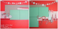 Stamping Rules!: Sparkle and Shine Layouts #SparkleAndShine
