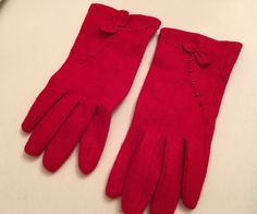 A personal favorite from my Etsy shop https://www.etsy.com/listing/258711452/50-sale-red-winter-gloves-for-women-with
