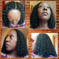 Crochet Braids, a great Summer protective style.