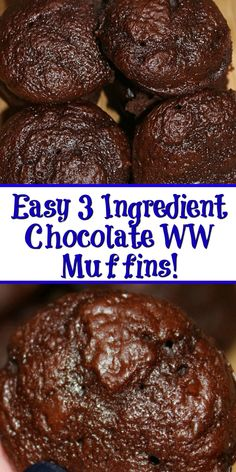 Weight watcher meals 103301385191002399 - This easy 3 Ingredient Chocolate Weight Watchers Muffins Recipe is a perfect small treat! Satisfy your chocolate craving with a low Smartpoint muffin. Source by CookEatGo Weight Watchers Snacks, Weight Watcher Dinners, Muffins Weight Watchers, Weight Watchers Kuchen, Plats Weight Watchers, Weight Watcher Desserts, Weight Loss, Lose Weight, Low Calorie Meals